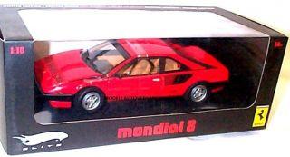 Ferrari Mondial 8 Rot Hot Wheels Elite Version L2987 Schumacher Vettel