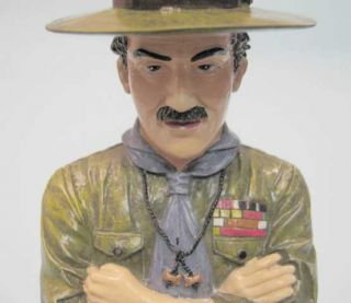 World Scout Movement Founder Lord Baden Powell of Gilwell Figure