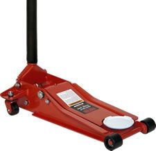 Norco 71233A Two 2 Ton Double Pump Low Profile Garage Floor Jack