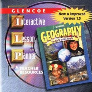 Glencoe Geography Interactive Lesson Planner 1 5 PC CD