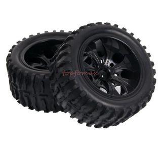 RC Bigfoot monster car Truck rubber tires tyre,Plastic wheel rim 88015