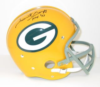 Forrest Gregg Signed Green Bay Packers RK Helmet Auto HOF