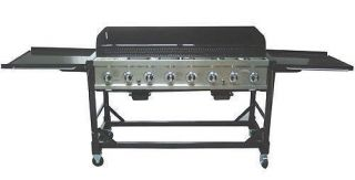 Grill 8 Burner Event LP Gas Grill 116 000 BTU with Stainless Steel