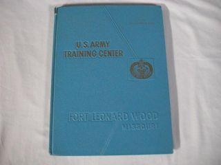 Fort Leonard Wood MO US Army Training Book 1978