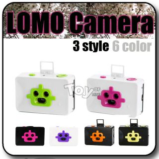 LOMO Robot Style 3 Lens Action Film Camera New Lomography Freestyle