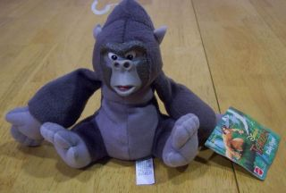 Disney Tarzan Baby Flynt Gorilla Plush Stuffed Animal