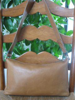 Coccinelle Brown Supple Leather Shoulder Tote Bag Handbag Purse