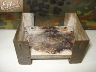 WWII Original German Wehrmacht Field Stove Esbit