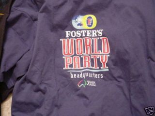 Fosters Fosters Beer Olympics T Shirt Adult Large
