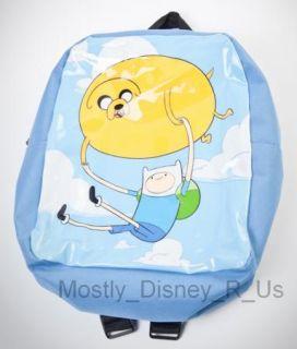 Adventure Time Finn and Jake Mini Backpack Balloon Tote Bag Back to