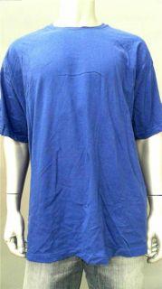 Foot Locker Mens 2XL Cotton Short Sleeve Basic T Shirt Tee Bright Blue
