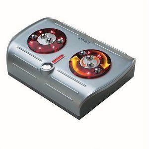 Homedics Foot PLEASER Shiatsu Foot Massager with Heat FM CR Brand New