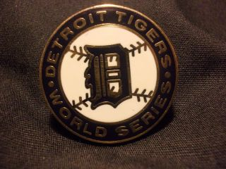 1987 Phantom Detroit Tigers World Series Press Pin