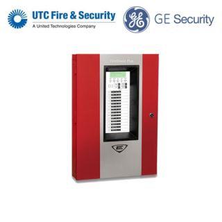 GE Fire UTC FSP502R Conventional Fire Alarm Red Control Panel 5 Zones