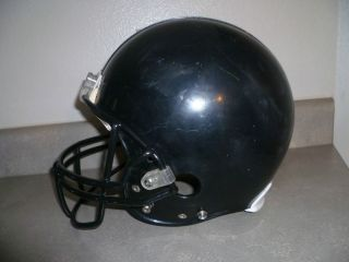 VINTAGE RIDDELL FOOTBALL HELMET USED BLACK FACEMASK VSR2 Y LARGE