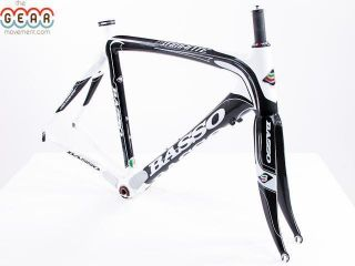 Basso Diamante Carbon 56cm Road Bike Frame 2011