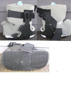 EBI INTEGRITY LOW TOP FRACTURE WALKER SHOE    sz large/medium    clean