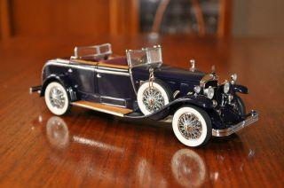 1926 Mercedes Benz Model K Franklin Mint