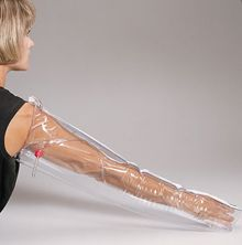 First Aid Only Inflatable Plastic Splint Full Arm M5085