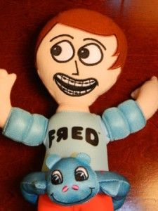 Fred FIGGLEHORN Talking Plush Figure Doll Stuffed Animal Toy Swimming