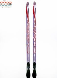 Used Madshus Metis Skate Cross Country Skis with Rottefella Bindings
