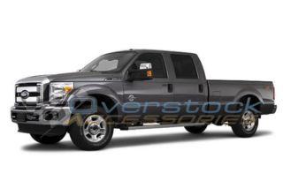 2011 2012 Ford Super Duty Crew Cab Floor Mats Black Husky Liners