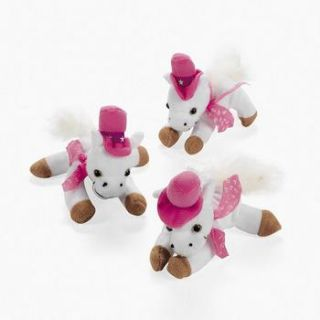 Pink Cowgirl Horses Western Birthday Party Favors
