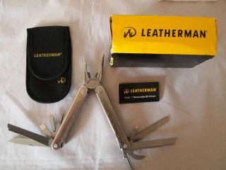 LEATHERMAN CORE SURVIVAL HUNT FISH CAMP MULTI TOOL WITH NYLON SHEATH