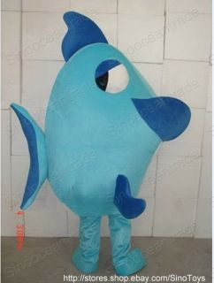 Fish Adult Size Mascot Costume Fancy Dress Outfit