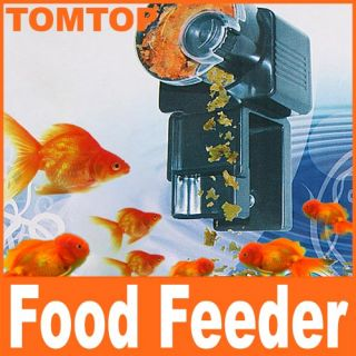 Automatic Fish Tank Food Feeder Timer Aquarium H4159