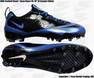 Nike Football Cleats Zoom Vapor Fly TD ID Sample 12 5 30 5cm Versity