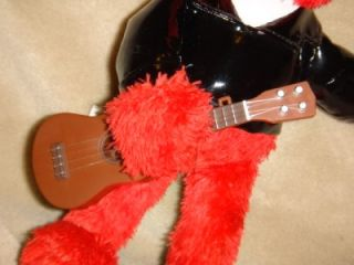 Fisher Price Sesame Street Plush Doll Elmo with Guitar 10