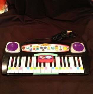 FISHER PRICE I CAN PLAY PIANO KEYBOARD TV PLUG & PLAY MUSICAL LEARNING