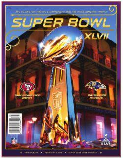 47 Baltimore Ravens V San Francisco 49ers Official Game Program