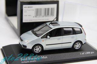 Minichamps 1 43 Scale Ford Focus C Max 2003 Green Metallic Ltd 1008pcs