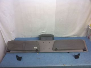 Ford F150 Overhead Console with Sun Visors w/ Mounting Brackets 80 96