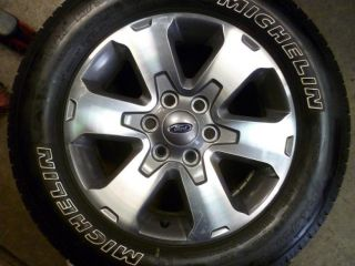 ford f150 fx4 factory wheels and tires this is a set of 2010 ford f150