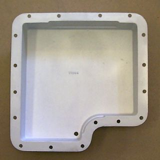 Ford C6 New As Cast Aluminum LOW PROFILE Transmission Pan.