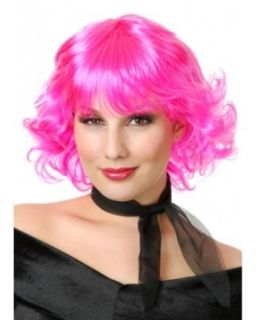 New Adult Frenchie Costume Wig Pink Grease 50s
