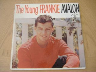 The Young Frankie Avalon Chancellor LP 5002 Pink 1st