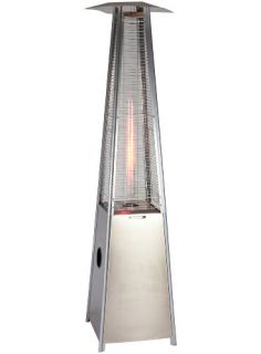 Sense Stainless Steel Pyramid Flame Outdoor Patio Heater FAST FREE S&H