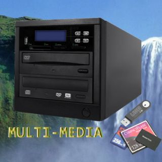 MS MMC Multiple Memory Flash Card to DVD Disc Backup Duplicator