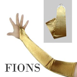 Fingerless Satin Bridal Formal Opera Gloves Halloween Party