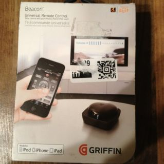 GRIFFIN Beacon Universal Iphone Remote Control for iPod iPhone and