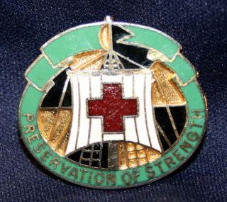 Original U s Army MEDDAC Fort Campbell DUI Crest