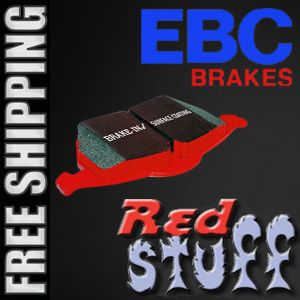 EBC Front Low Dust RedStuff Performance Set Ceramic Disc Brake Pads