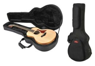 New SKB Taylor GS Mini Acoustic Guitar Soft Case With Back Pack Straps