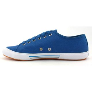 Fred Perry B708 Mens Vintage Tennis Canvas Plimsoll Blue Grey