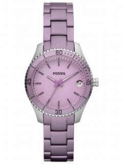 Fossil Mini Stella Purple Aluminum Womens Watch ES3046