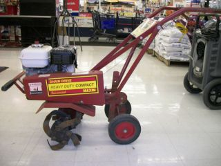 MAXIM HEAVY DUTY COMMERCIAL FRONT TINE TILLER WITH HONDA MOTOR